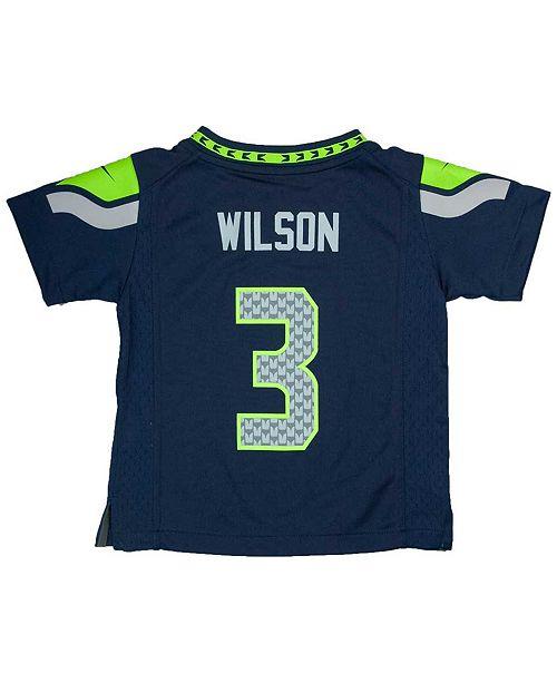 aae72dae2 Nike Toddlers  Russell Wilson Seattle Seahawks Jersey - Sports Fan ...
