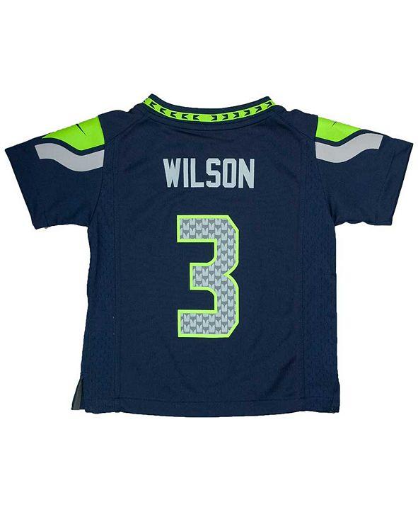 Nike Toddlers' Russell Wilson Seattle Seahawks Jersey