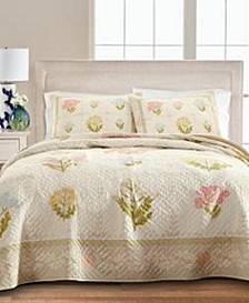 Floral Album Full/Queen Quilt, Created for Macy's