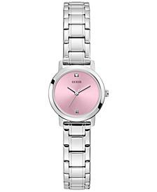 Women's Diamond-Accent Stainless Steel Bracelet Watch 25mm