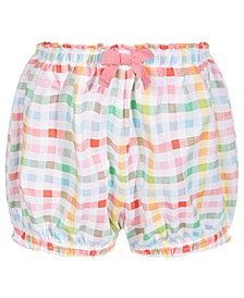 Baby Girls Multicolor Gingham Cotton Bloomers, Created for Macy's