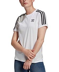 Women's Cotton 3 Stripes T-Shirt
