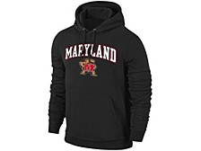 Maryland Terrapins Men's Midsize Screenprint Hooded Sweatshirt