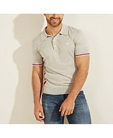 Men's Smith Striped Polo Sweater