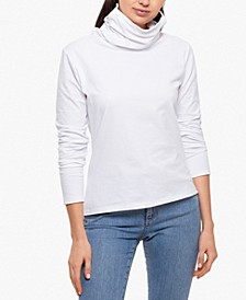 Long-Sleeve Top & Attached Face Mask, Created for Macy's