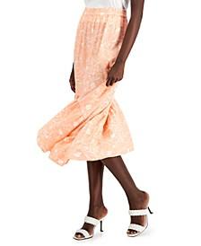INC Floral-Print Midi Skirt, Created for Macy's