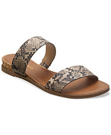 SUN + STONE Easten Slide Sandals, Created for Macy's
