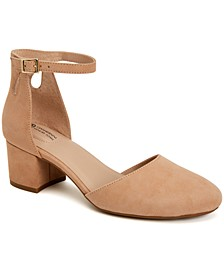 Izzee Memory Foam Two-Piece Pumps, Created for Macy's