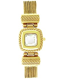 Women's Gold-Tone Crystal Multi-Chain Flip Watch 18mm, Created for Macy's