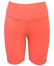 Ribbed Bike Shorts, Created for Macy's