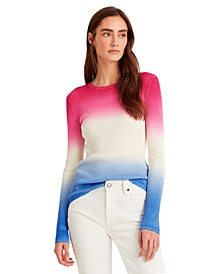 Dip-Dyed Ribbed Sweater