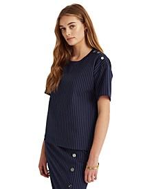 Pinstriped T-Shirt