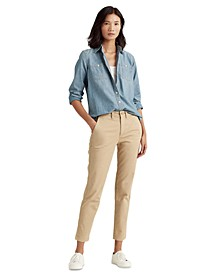 Cropped Classic Chinos