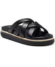 Women's Chavelle Crisscross Rubber Slide Sandals