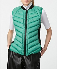 Recycled Quilted Puffer Vest