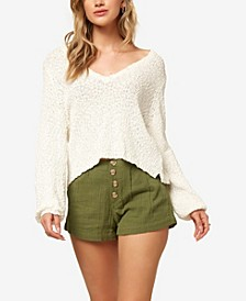 Shores Solid Women's Sweater