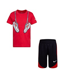 Toddler Boy Sport Footwear Short Set