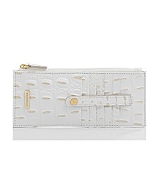 Credit Card Melbourne Embossed Leather Wallet