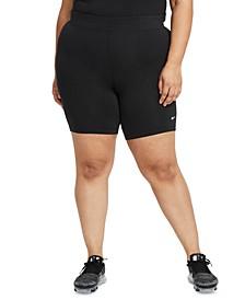 Sportswear Plus Size Women's Essential Mid-Rise Bike Shorts