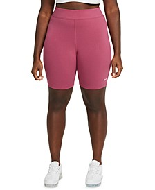 Sportswear Plus Size Women's Essential Mid-Rise Bike Shorts