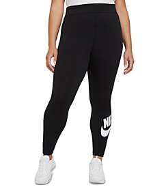 Plus Size Women's Essential High-Rise Leggings