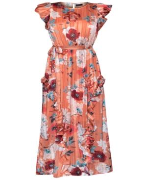 Rachel Rachel Roy Maxi dresses PLUS SIZE ISSA RUFFLED MAXI DRESS