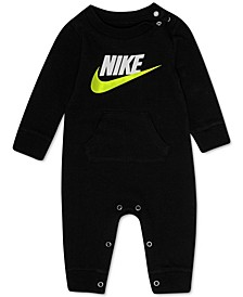 Baby Boys Futura Thermal Cotton Coverall