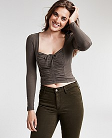 Cory Ruched Crop Top