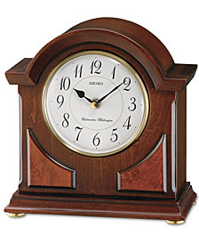 Seiko Brown Tabletop Clock QXJ012BLH