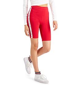Logo-Tape Bike Shorts