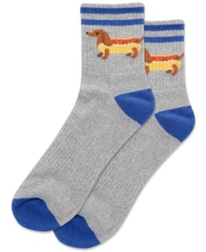 Men's Hot Dog Quarter Socks
