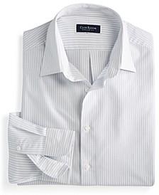 Men's Classic/Regular-Fit Stripe Dress Shirt, Created for Macy's