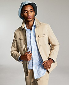Men's Regular-Fit Stretch Twill Jacket, Created for Macy's