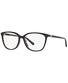 MK4067U Santa Clara Women's Rectangle Eyeglasses