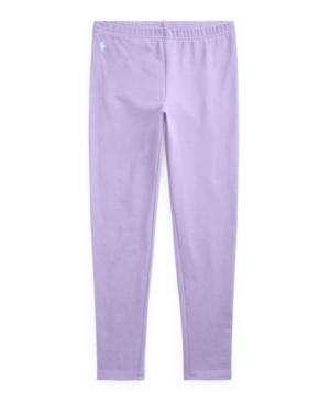 Polo Ralph Lauren BIG GIRLS STRETCH COTTON JERSEY LEGGING PANTS