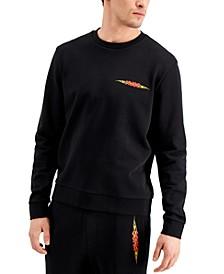 Boss Men's Flame Logo Sweatshirt in Black, Created for Macy's
