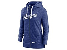 Los Angeles Dodgers Women's Gym Vintage Full Zip Sweatshirt