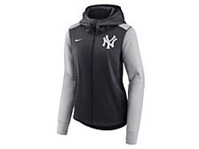 New York Yankees Women's Therma Full Zip Fleece Jacket