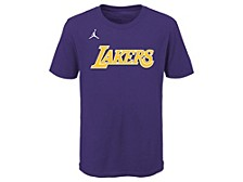Youth Los Angeles Lakers Statement Wordmark T-Shirt