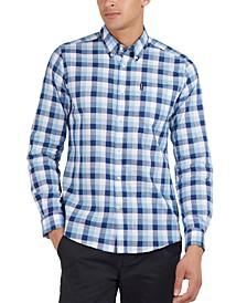 Men's Gingham Tailored Shirt