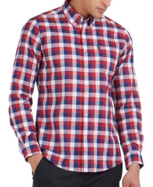 Barbour Shirts MEN'S GINGHAM TAILORED SHIRT