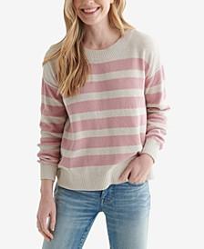 Blocked Striped Sweater