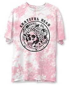Women's Tie-Dyed Graphic-Print Cotton T-Shirt