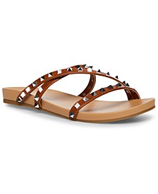 Candy Studded Strappy Footbed Sandals