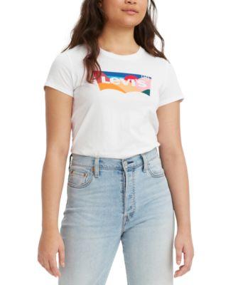 Women's Batwing Perfect Graphic Logo T-shirt