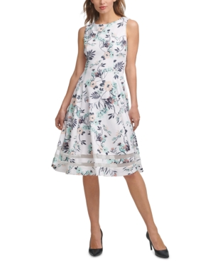 Calvin Klein Midi dresses FLORAL MIDI DRESS