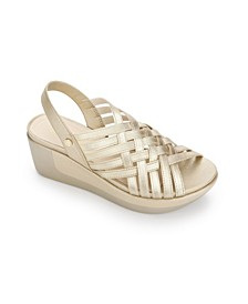 Women's Pepea Weave Wedge Sandals