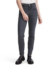 Women's 501 Distressed Skinny Jeans