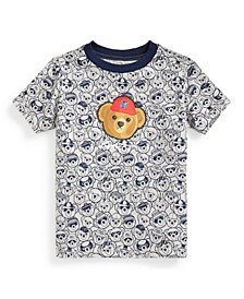 Toddler Boys P Wing Polo Bear Cotton Jersey Tee