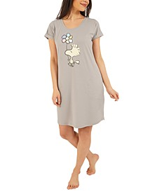 Peanuts Woodstock Sleep Shirt Nightgown
